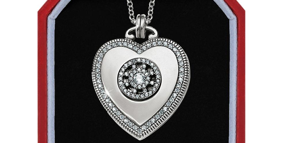 Illumina Small Heart Locket Necklace Box Set