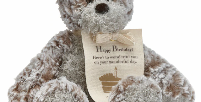 Mini Birthday Giving Bear