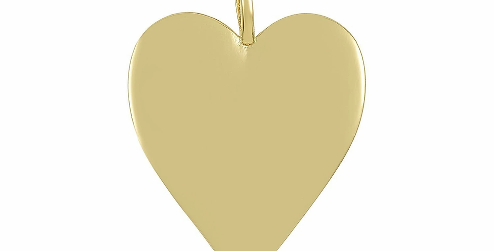 Icons Golden Heart Charm