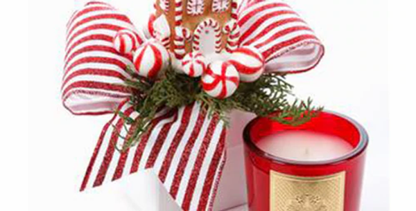Gingerbread Gift Box Candle