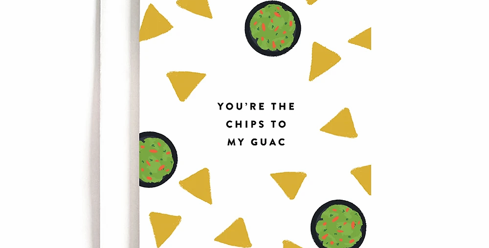 Chips to my Gauc Greeting Card