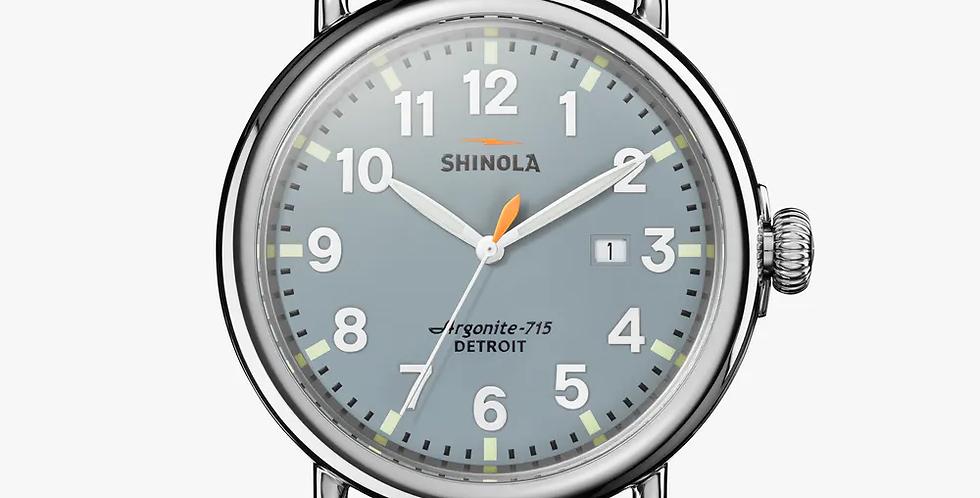 Shinola The Runwell Slate Blue