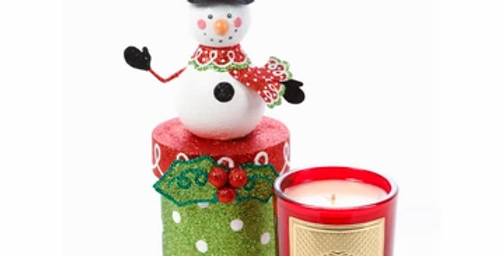 Frosty Gift Box Candle