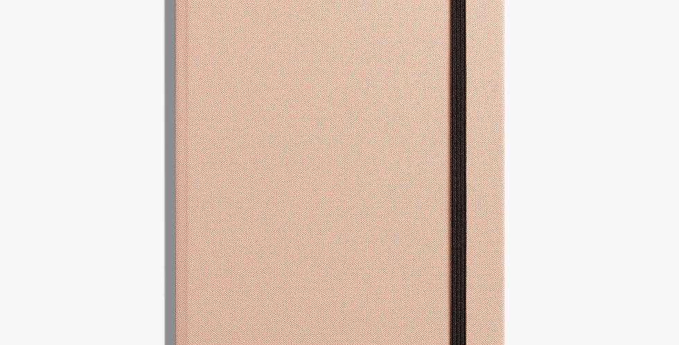 Shinola Medium Hard Linen Journal: Blush