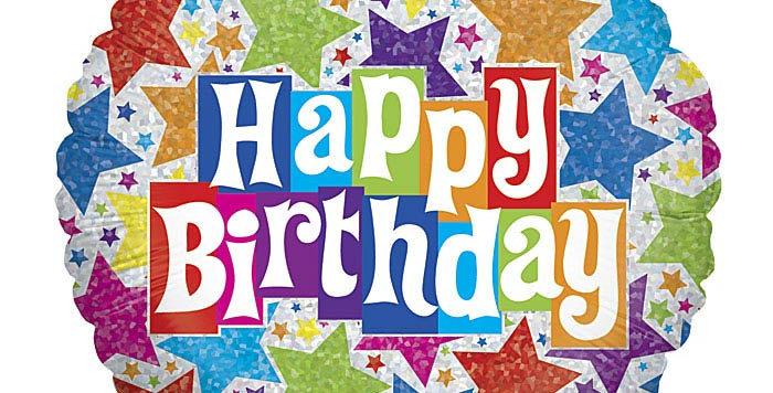 """Birthday Balloon 4"""""""