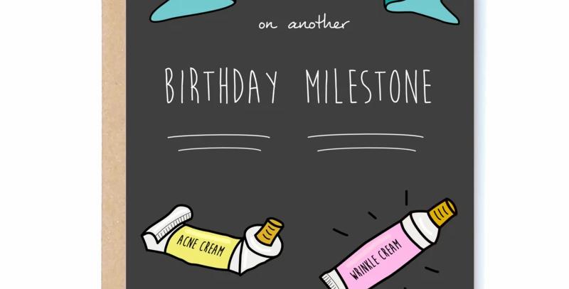 Milestone Card