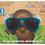 Thumbnail: Rocco Kids Blue Modern Classic Sunglasses