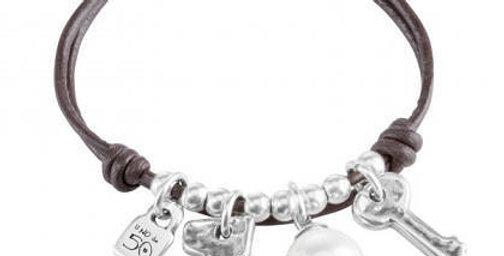 Pearl with Keys Bracelet