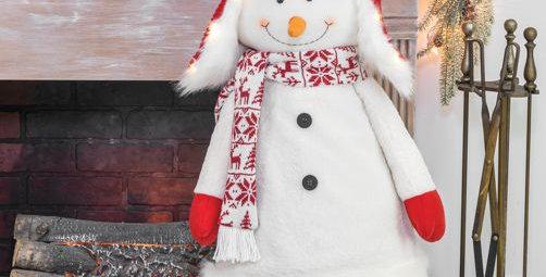 Buddy Bobble Snowman Stander