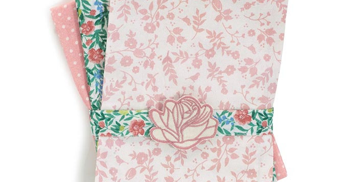 Rose Tea Towel Set
