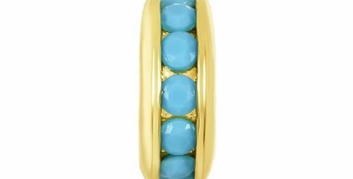 Icons Single Row Spacer Turquoise