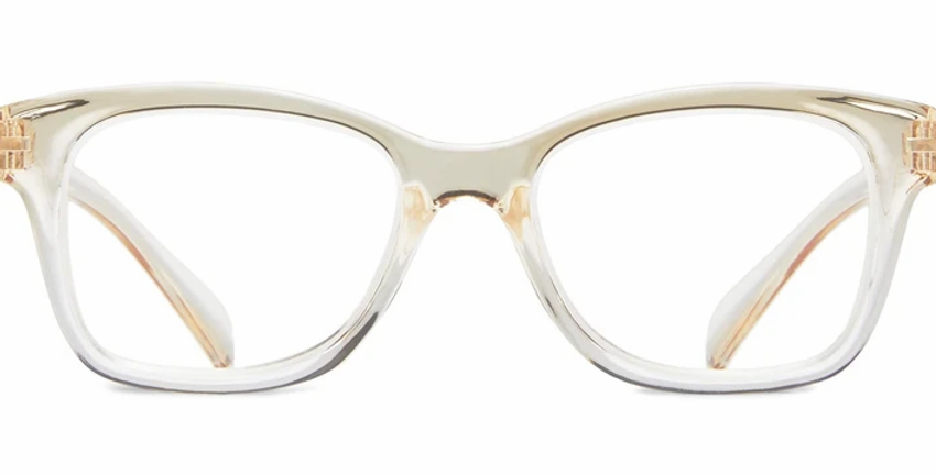 Danelle: +1.75 Taupe Large Oval Readers