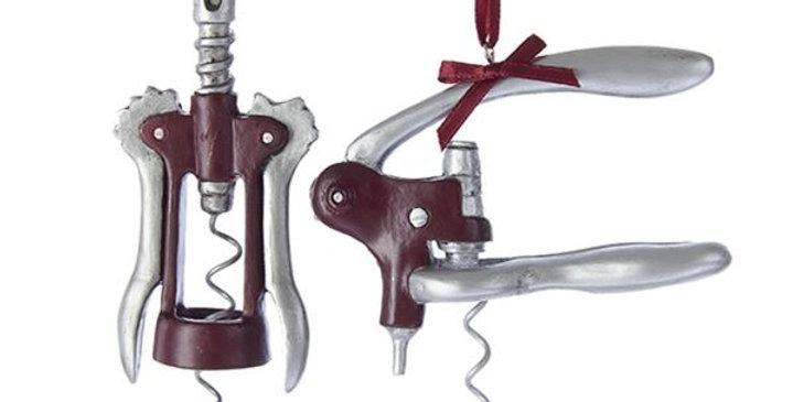 Kurt Adler Ornament: Wine opener