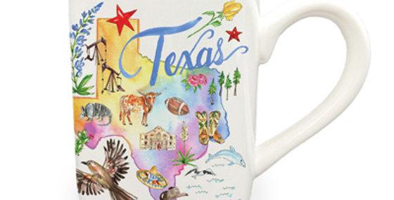 Rosanne Beck: Texas State Collection Mug