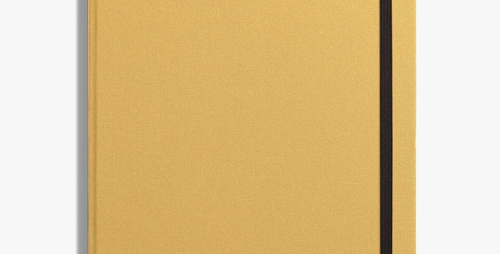 Shinola  Large Hard Linen Journal: Golden