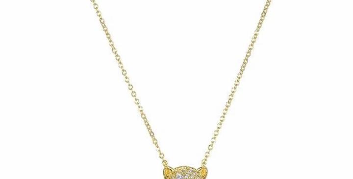 Emerald Baby Jaguar Necklace
