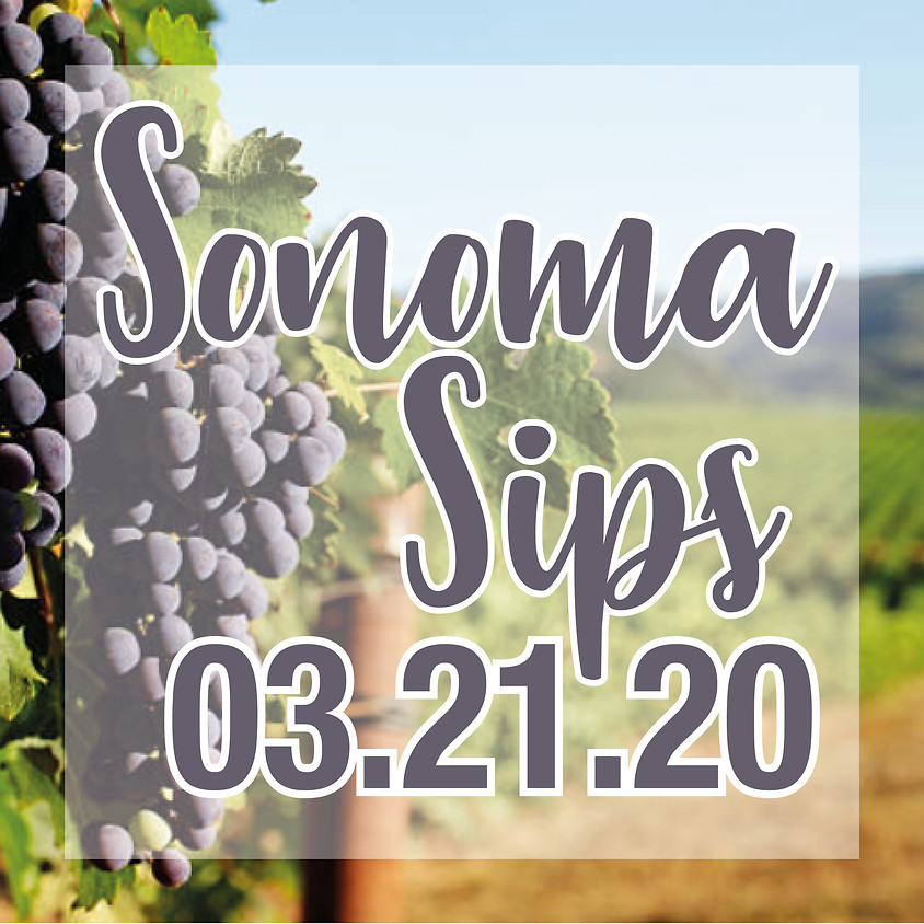 Sonoma Sips 5:00pm