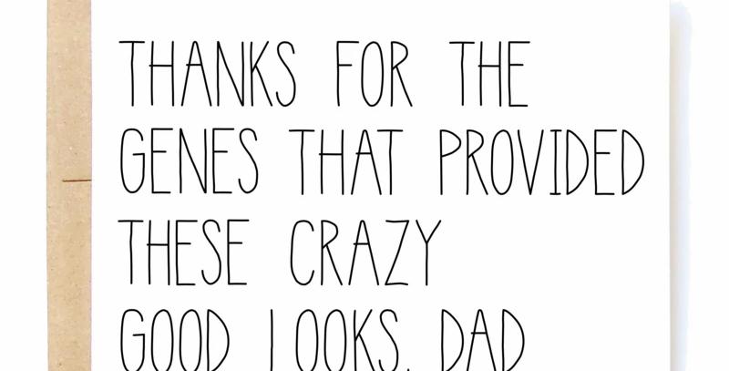 Genes Dad Card