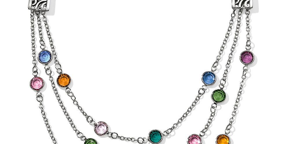 Elora Gems Multi Layer Necklace