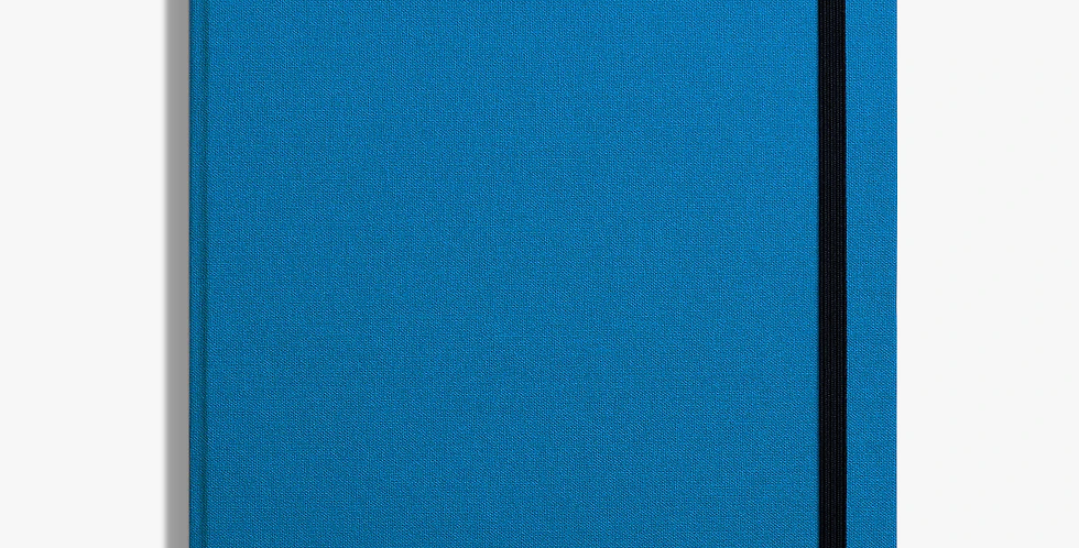 Shinola Hard Linen Journal: Cobalt