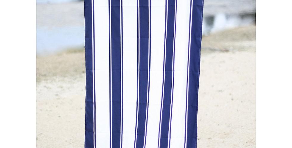 St. Augustine Beach Towel in Navy