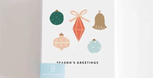Season's Greetings Boxed Set of 8 Cards