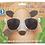 Thumbnail: Rocco Kids Clear Modern Classic Sunglasses
