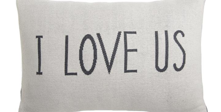 """""""I Love Us"""" Lumbar Pillow"""