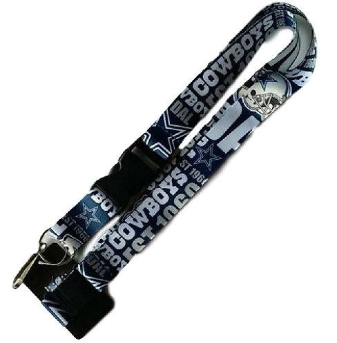 NFL Dallas Cowboys Lanyard Key Chain Dynamic