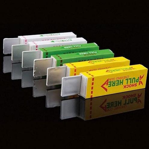 12 Pack of Shocking Gum Gag Prank Toys