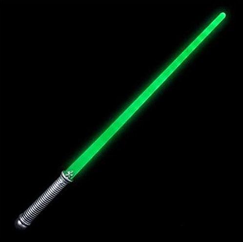green lightaber light up sword prop halloween