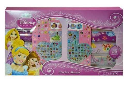 Disney Princess Stickermania Stickers Box Set