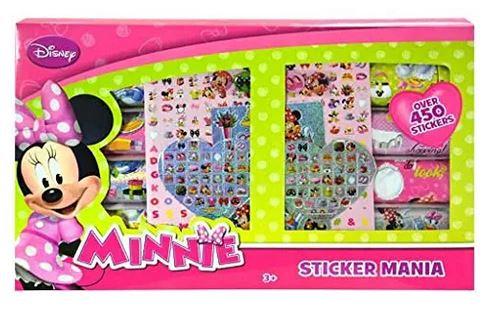 Minnie Mouse Stickermania Stickers Box Set