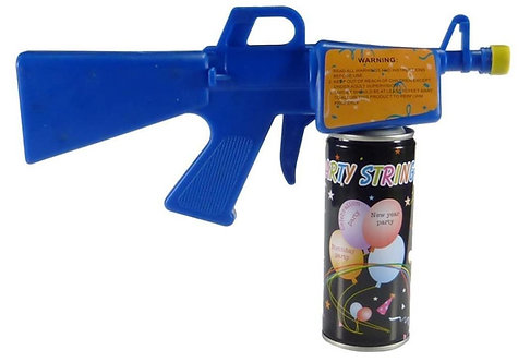 12 Pack of Silly Party String Guns with Silly Party String Cans