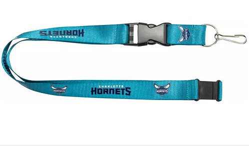 NBA Charlotte Hornets lanyard key chain