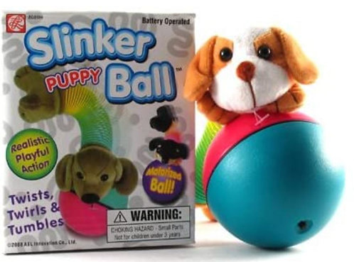 slinky puppy ball toy kids cats dogs pets