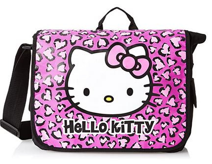 Hello Kitty Leopard Print Messenger Bag