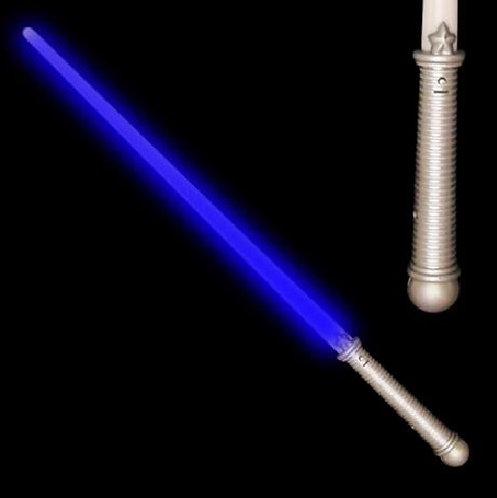 Blue Light Up Sword Lightsaber Prop Costume Accessory