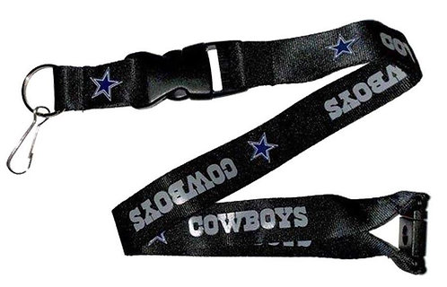 NFL Dallas Cowboys Lanyard Key Chain