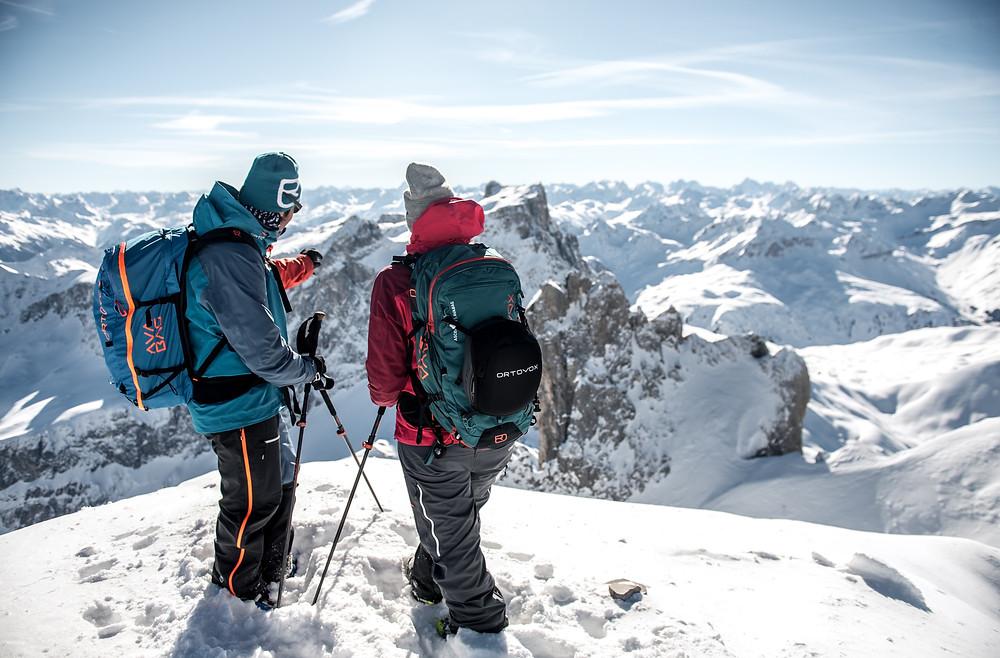 Skitouren Montafon & Arlberg