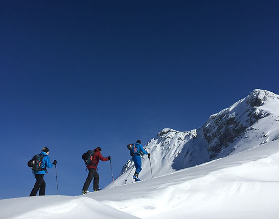 Skitouren Arlberg, Montafon, Guide, Schiführer, Skiführer, Schischule, Lech