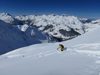 Die Top 5 Freeride-Runs am Arlberg