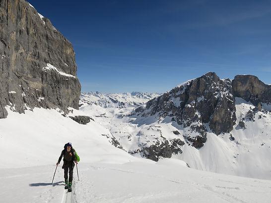 Skitouren Montafon, Rätikon, Schiführer, Skiführer, Guiding, Guide, Montafon