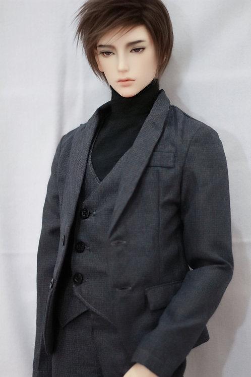 Brit Grey Suit (3 pcs set)