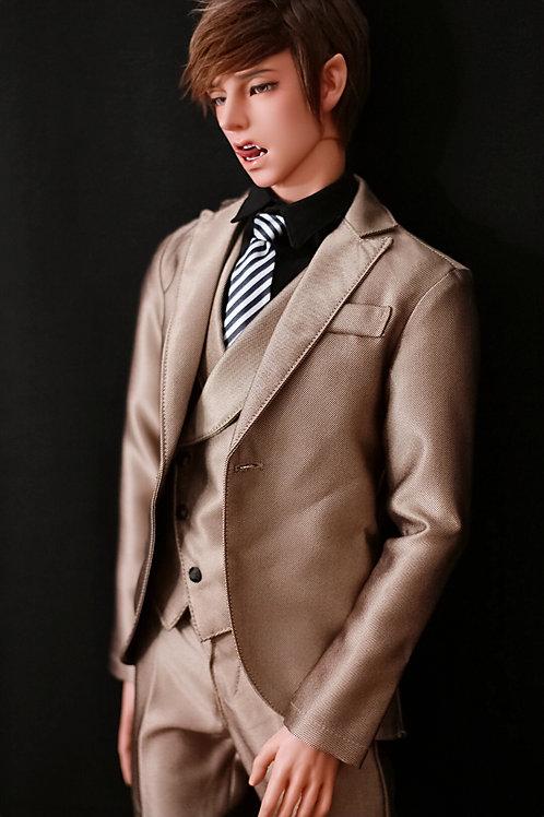 Gold Davinci Suit (3 pcs set)