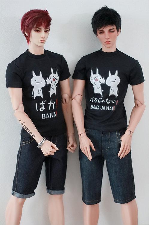 Print Tshirt - Baka Bunny