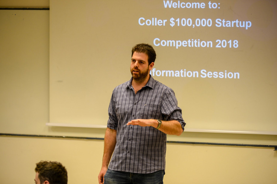Young startup companies wanted – the Coller $100,000 Startup Competition is underway!