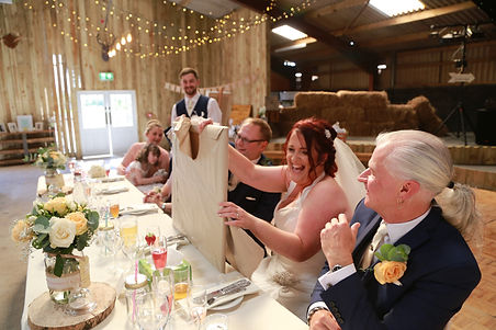 Charlotte And Chives wedding Top Table