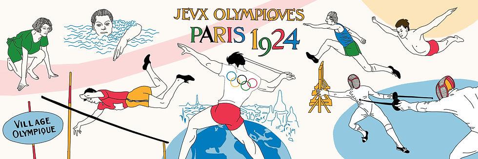 Podcast Jeux Olympiques Paris 1924 sport