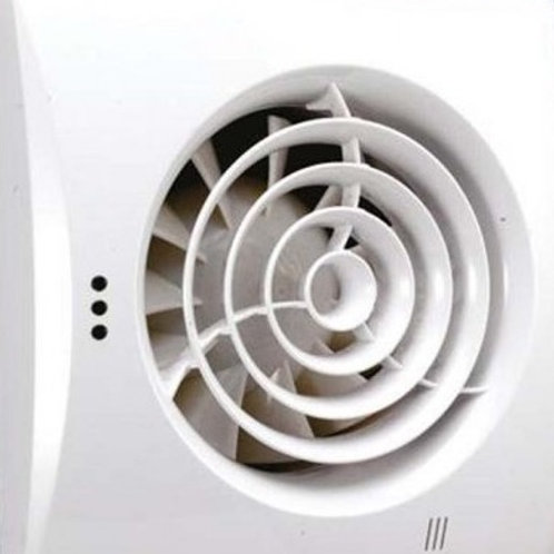HIB Extra silent wall mounted extractor fan
